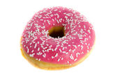 Strawberry donut — Stock Photo
