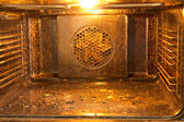 Dirty oven — Stock Photo