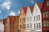Bryggen in Bergen — Stock Photo