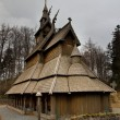 Stock Photo: Stave church 2