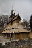 Stave church 2 — Stock Photo