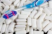 Clean the teeths — Stock Photo