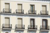 Madrid-fassade — Stockfoto