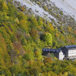 Stock Photo: Mountain hotel