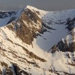 Panorama of the Pyrenees - Stock Photo