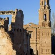 Stockfoto: Village demolished Belchite