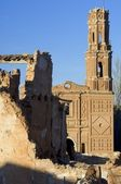 Village demolished Belchite — Stock Photo