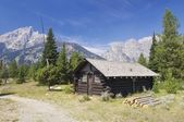 Hut in Grand Teton — Stock Photo