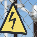 Electrical hazard — Stock Photo