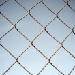 Stock Photo: Fence close up