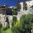 Stock Photo: Hanging houses of Cuenca