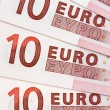 Euros background — Stock Photo