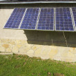 Solar panel — Stock Photo #8188109