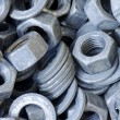 Nuts and washers - Foto Stock