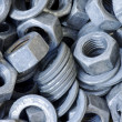 Nuts and washers - Stockfoto