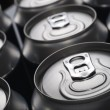Soda cans — Foto Stock