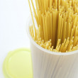 Spaghetti box — Stock Photo