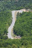 Estrada sinuosa — Foto Stock