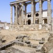 Roman temple of Diana - Stock Photo