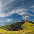 Panorama Alps mountains — Stock Photo