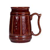 Big traditional ceramic mug — Stock Photo