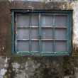 Weathered window — Stock Photo