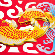 Lunar year decoration — Stock Photo