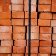 Blocks and the wall — Stock Photo