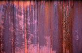 Rusty iron fence — Stock Photo
