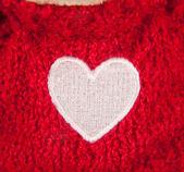 Heart-shaped marking — Stock Photo