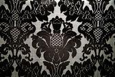 Black royal motif — Stock Photo