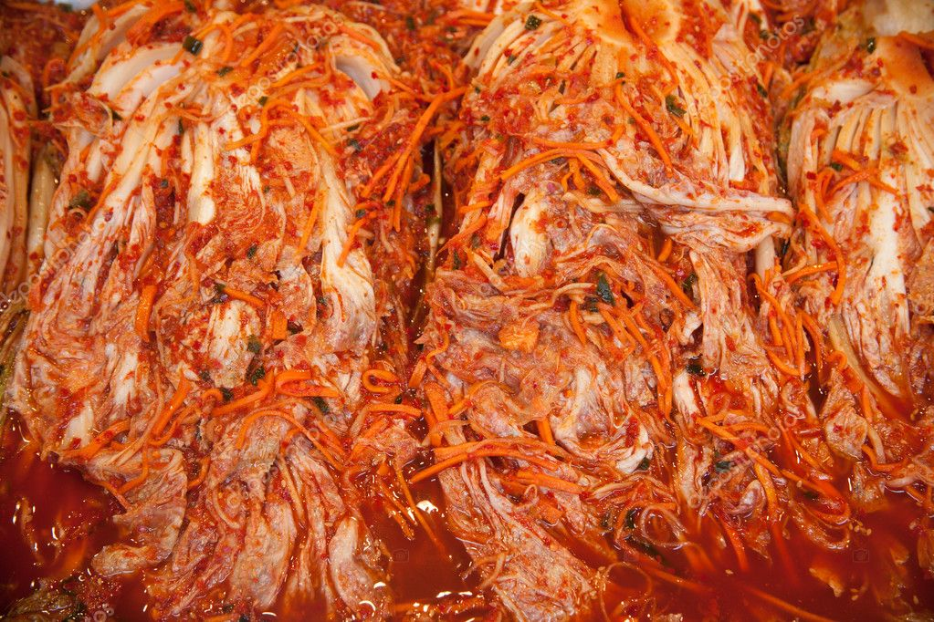The northern winter season vegetable kimchi  Stock Photo #8793048