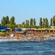 Ukrainian Black Sea beach — Stock Photo
