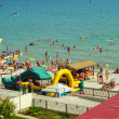 Ukrainian Black Sea beach — Stock Photo #8095292