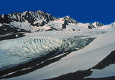 Glacier in the Alaskan Wilds — Stock Photo