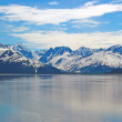 Snowy Mountains on a Summer Day — Stock Photo