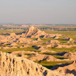 Badlands at Sunset — Stock Photo
