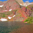 Alpine Lake on a Summer Day — Stockfoto