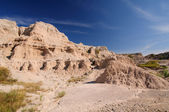 Desert Canyon in the Badlands — Stock Photo