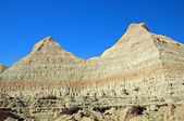 Escarpment wall in the Badlands — Stock Photo