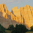 Stock Photo: Sunset on Badlands Rdige