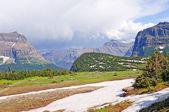 Passo di montagna dopo una tempesta estiva — Foto Stock