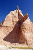 Pinnacle in the Badlands — Stock Photo