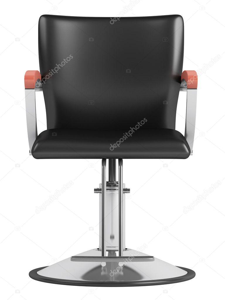 Zwarte kappers salon stoel stockfoto nmorozova 8539441 - Witte kapper ...