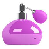 Pink parfume bottle — Stock Photo