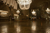 Wieliczka. Salt mine — Stock Photo