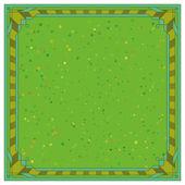 Astratto sfondo, cornice, verde — Vettoriale Stock