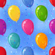 Royalty-Free Stock Photo: Balloon seamless background in sky