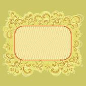 Fundo flor abstrato — Vetorial Stock