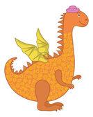 Dragon symbol of East New Years — Wektor stockowy